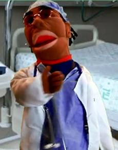 Dr. Magic doin' his magic thang.