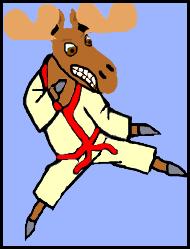 Martial Arts Moose