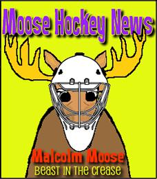 Moose Hockey Player