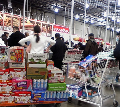 Why isn't there an express lane at Costco or Sam's? I ask you, people?